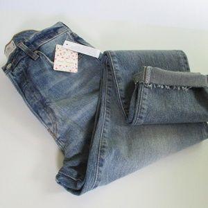 We The Free Stella Rip & Repair Skinny Jeans Sz 29